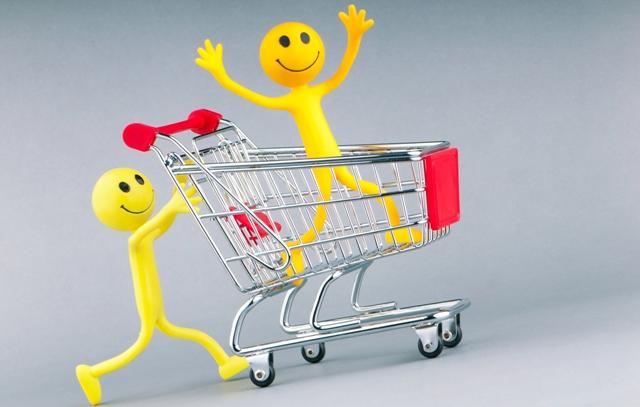 smily comprando-bloc