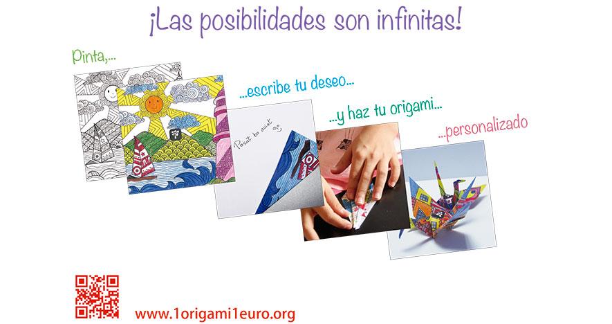 1 origami 1 euro