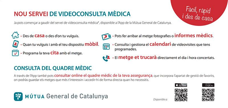 Nou servei de videoconsulta mèdica