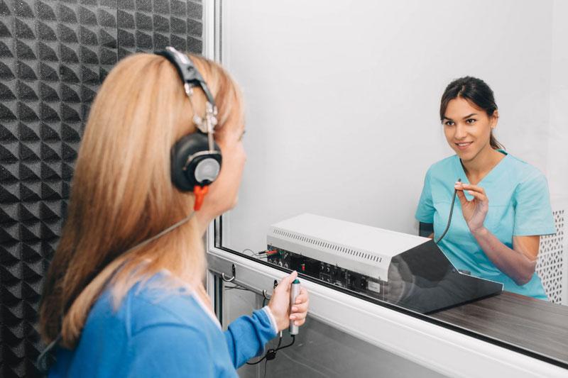 salud auditiva audiometría