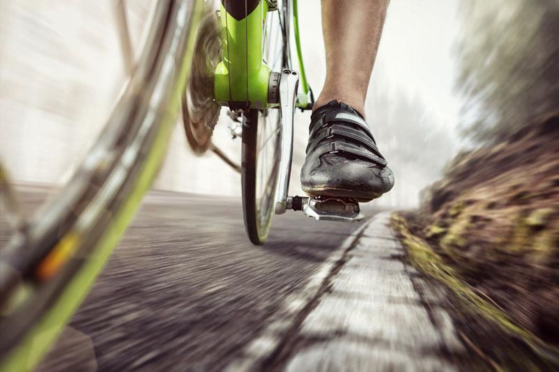 ciclista rápido