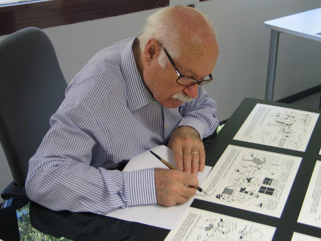 Muere el dibujante Josep María Blanco, uno de los históricos del 'TBO', amigo y colaborador de la Fundación MGC
