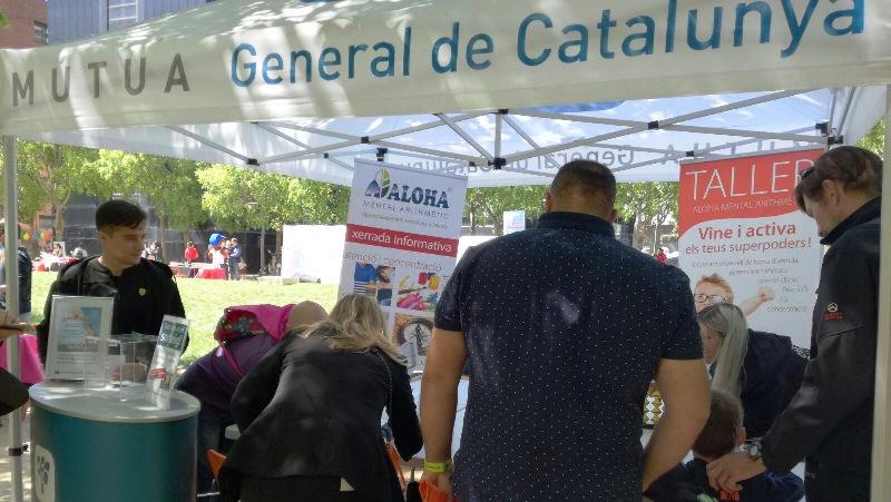Mútua General de Catalunya participa activamente en la feria «Chic i Tin» en Pedralbes Centre