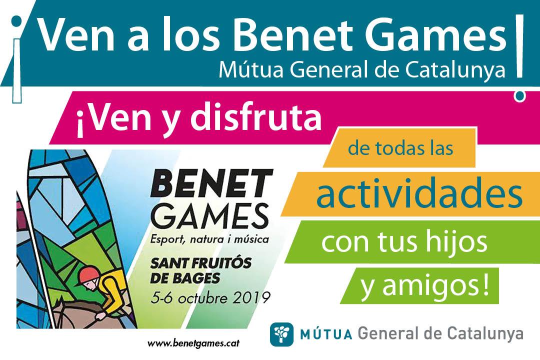 ¡Ven a los Benet Games Mútua General de Catalunya!