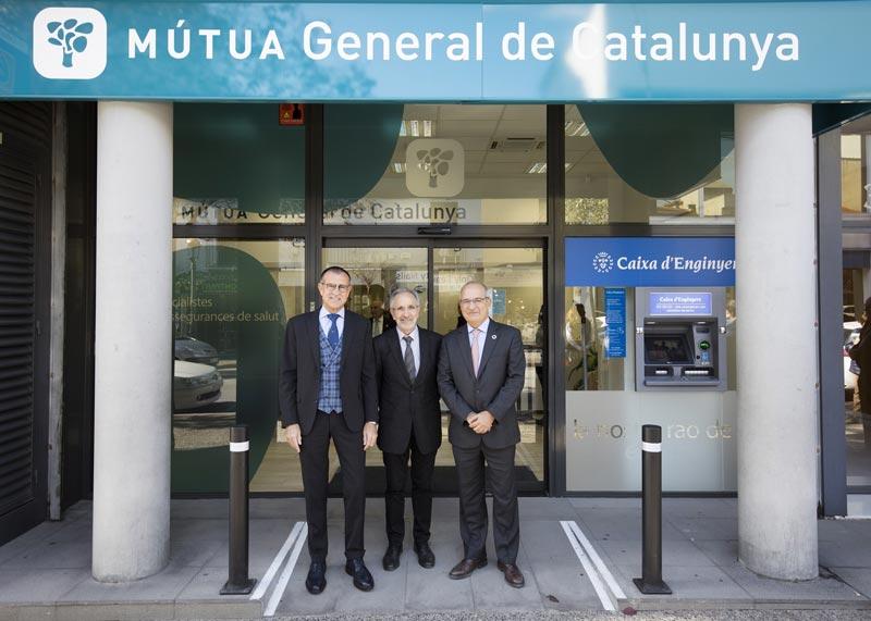Caja de Ingenieros inaugura su nueva oficina en la sede de Mútua General de Catalunya en Granollers