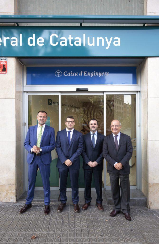 Caja de Ingenieros refuerza su red de oficinas de la mano de Mútua General de Catalunya