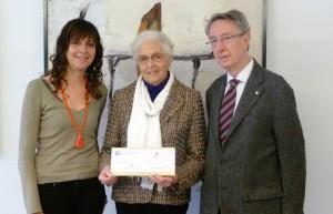 Donación de 50.000 € de la Fundación Mútua General de Catalunya para causas solidarias