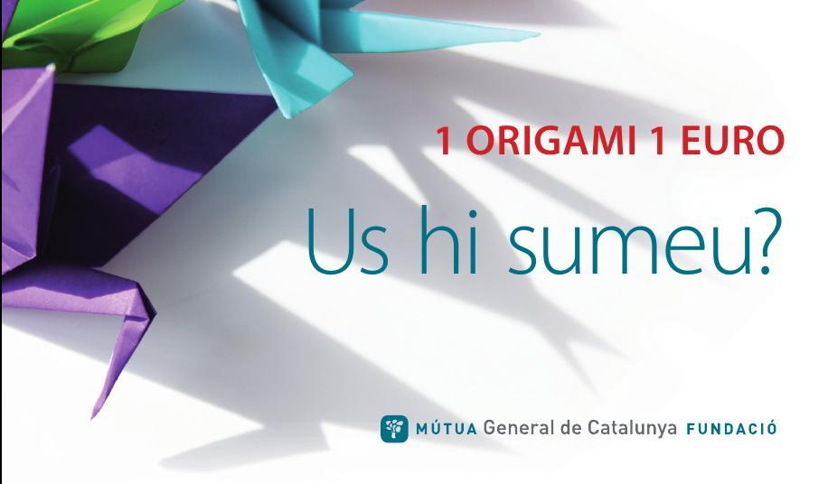 Comienza la III Edición de la campaña «1 origami 1 euro»