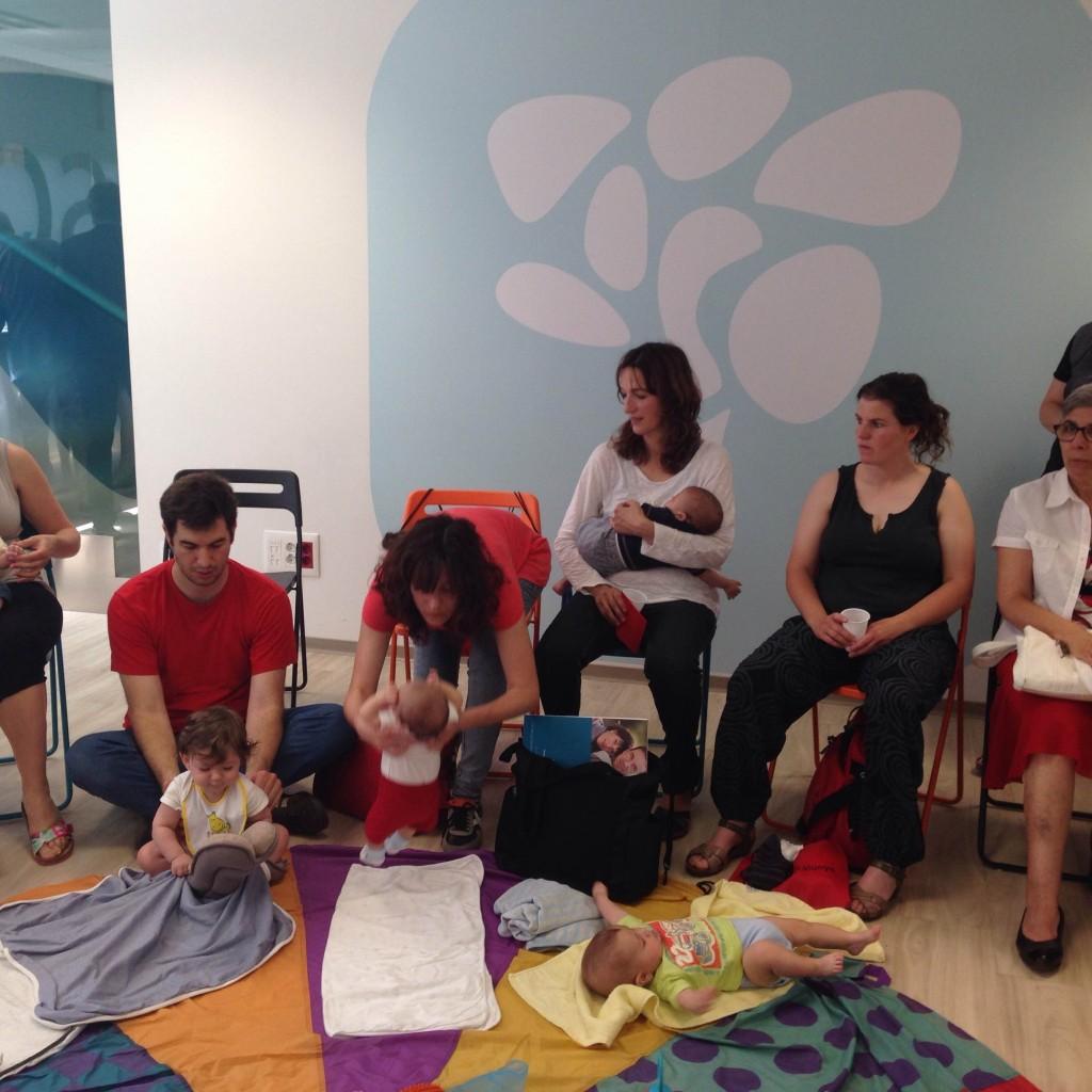 La Mútua organiza talleres de estimulación precoz para bebés en Vic