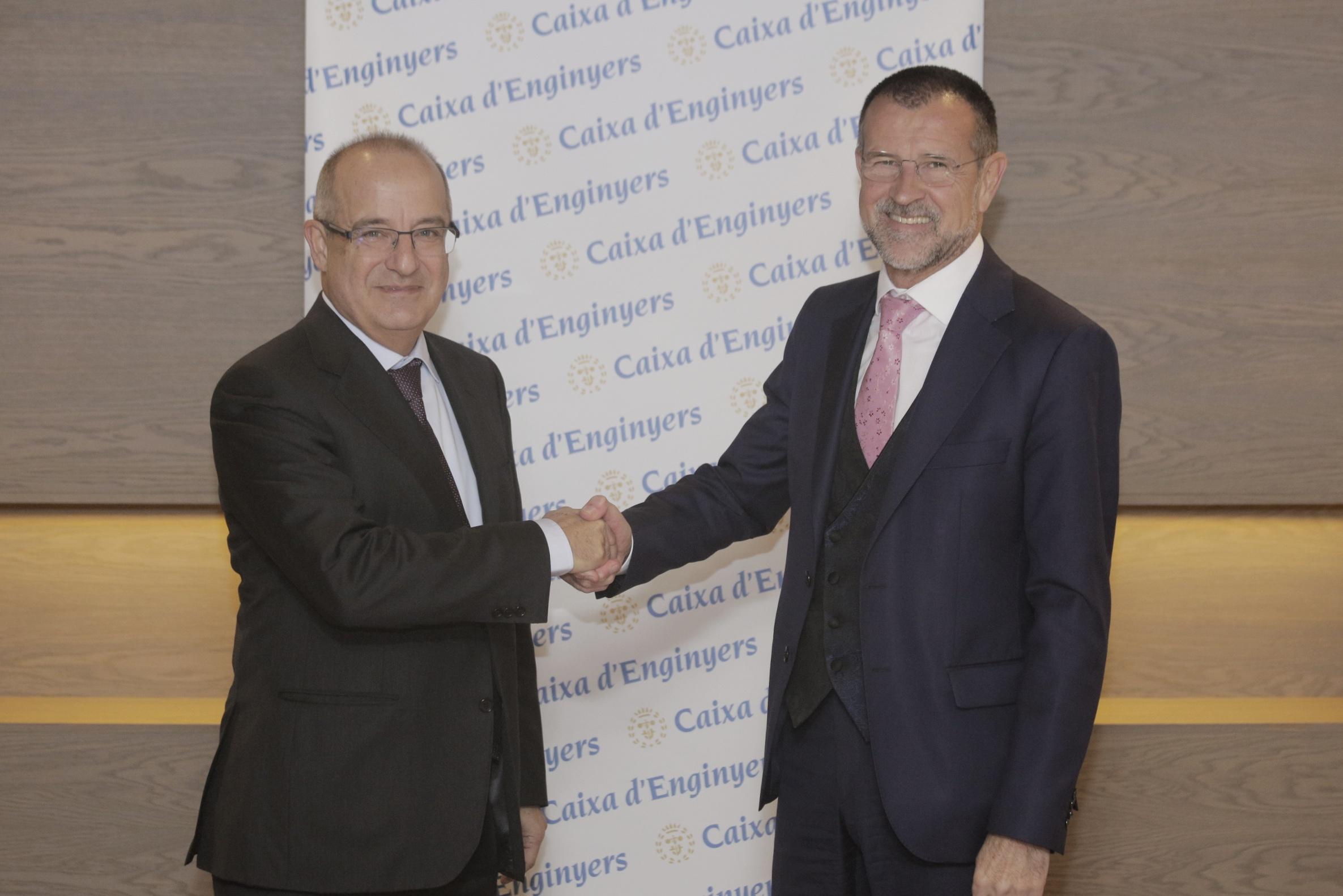 Mútua General de Catalunya y Caja de Ingenieros firman un acuerdo de colaboración