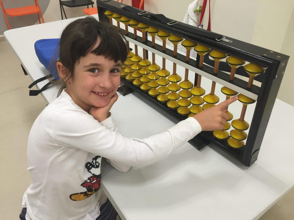 Medalla d'or per a la Mariona Llorens al campionat d'Aloha Mental Arithmetic