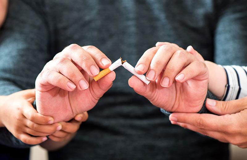 Dejar de fumar beneficia tu salud y la de tu familia