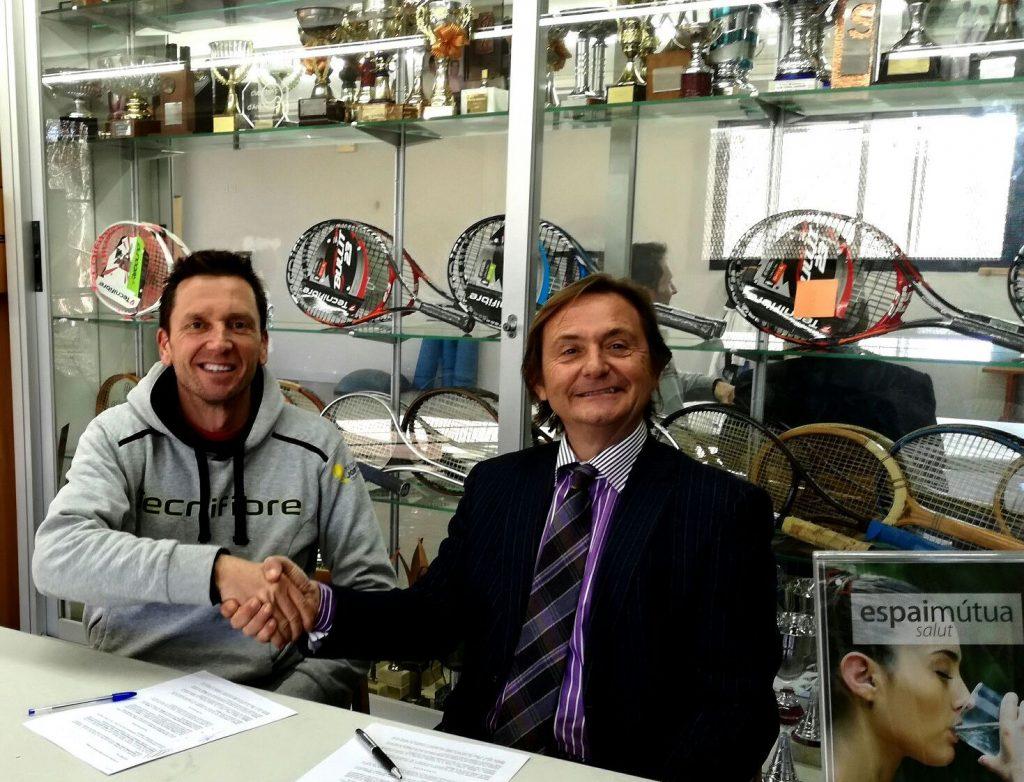 Acuerdo de colaboración con el Club Tennis Pàdel Jordi Plana