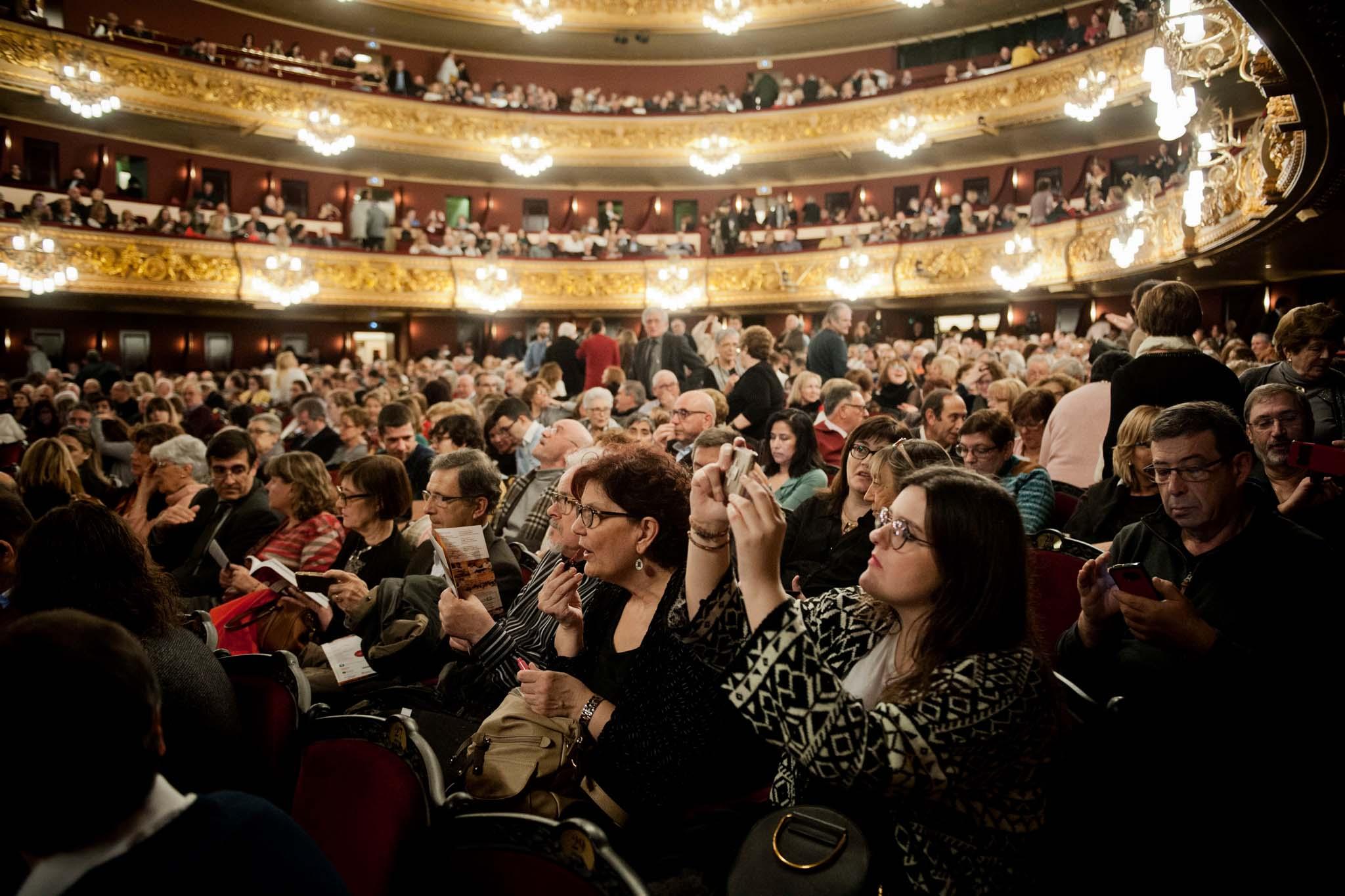 La Mútua en el gran concierto de Simfonova en el Gran Teatre del Liceu