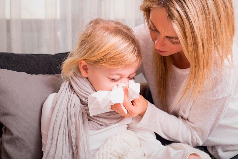 9 consejos para prevenir las enfermedades de los niños en invierno