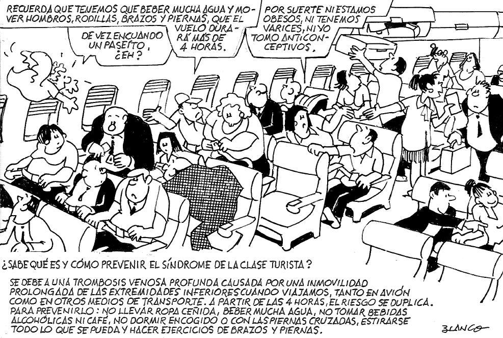 El síndrome de la clase turista