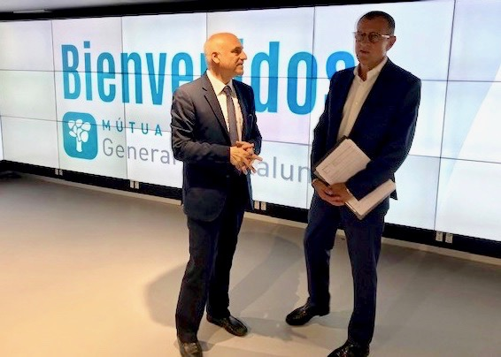 MGC Mutua y AURA Seguros firman un acuerdo de colaboración