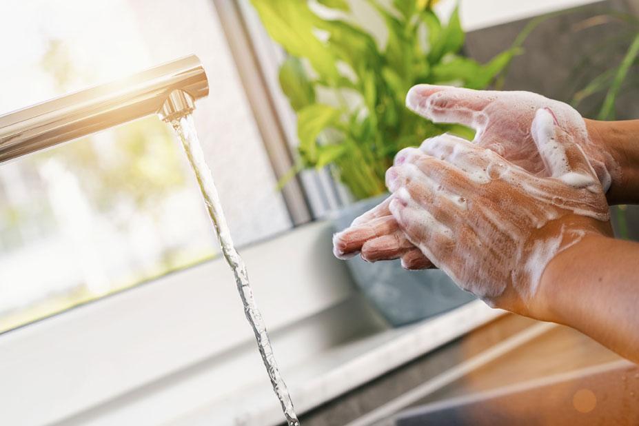 La importancia del lavado de manos