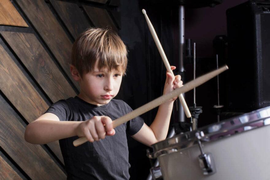Aprendizaje musical batería