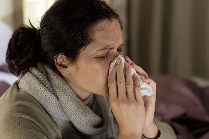 Con gripe